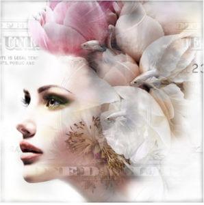 Floral Face – Mascha de Haas