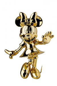 Golden Sculpture Mini- Mickey and Friends