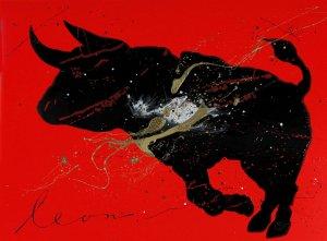 Red & Black II- Leon Bosboom