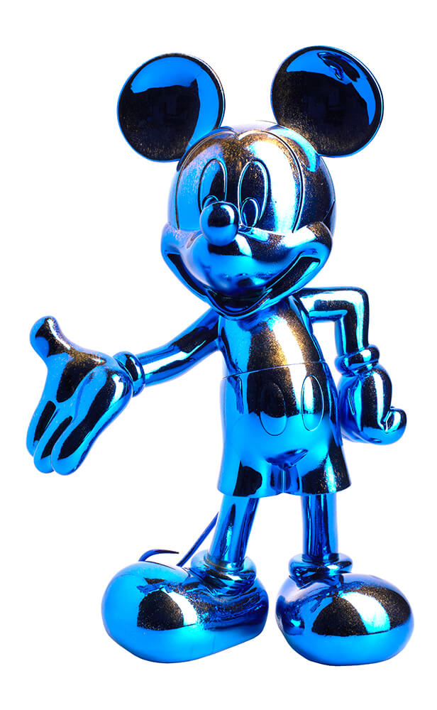 Blue Chrome Sculpture Mickey – Mickey and Friends