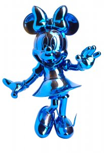Blue Chrome Sculpture Mini – Mickey and Friends