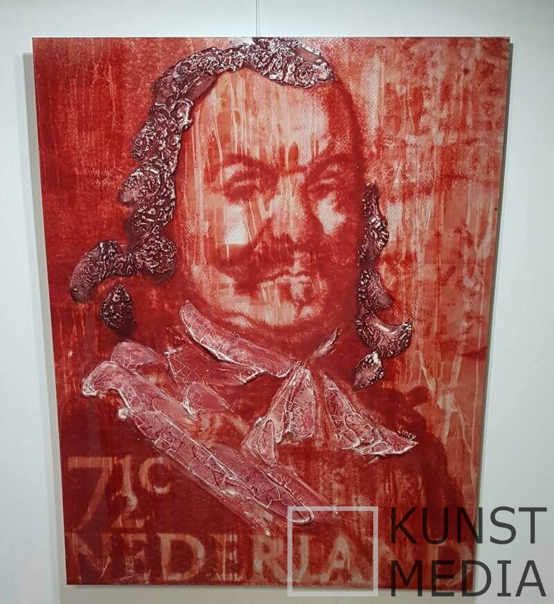 Michiel de Ruyter ART STAMP – Lincy Hoogveld