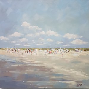 At the beach – Nicole Laceur