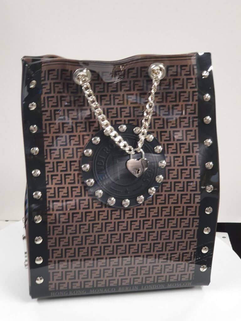 Art sculpture Fendi goodie bag – Ad van Hassel