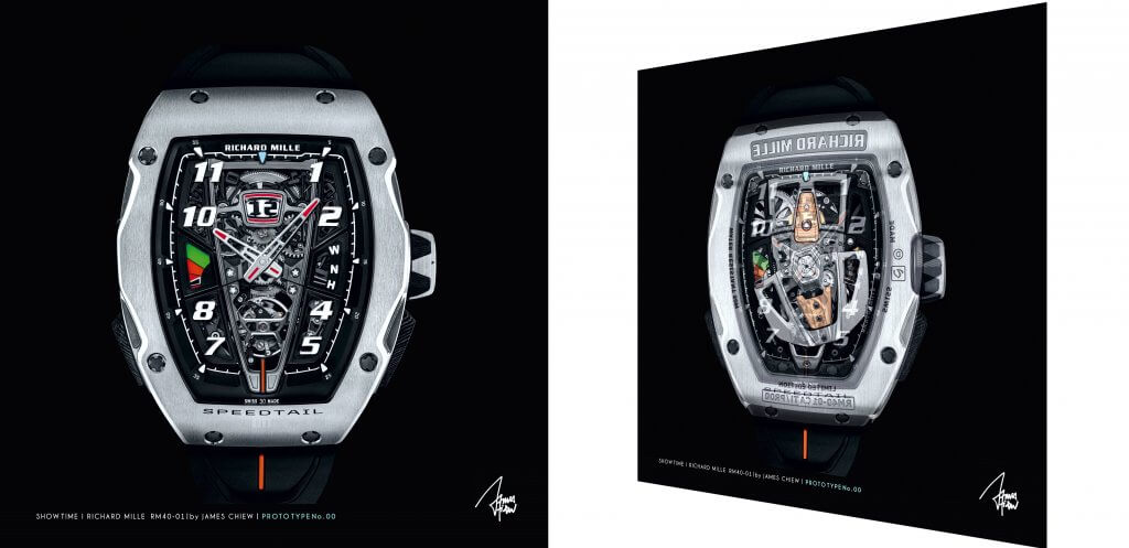 Richard Mille RM40 X-ray   – James Chiew