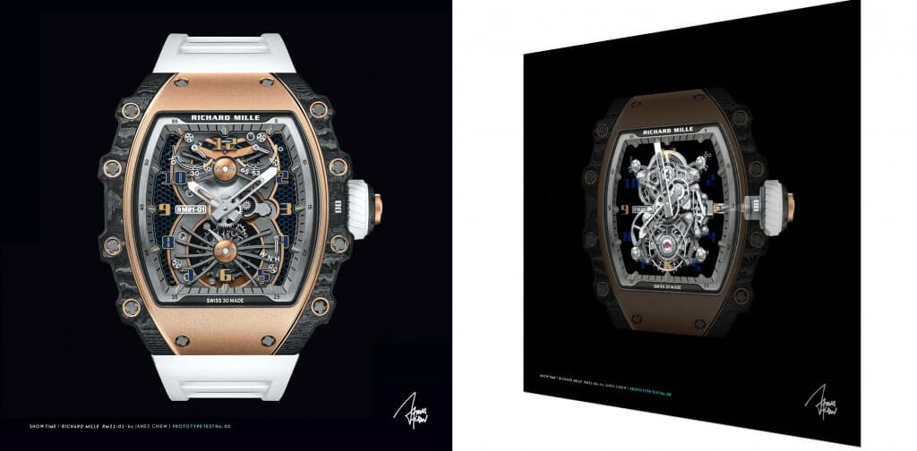 Richard Mille RM21 X-ray   – James Chiew