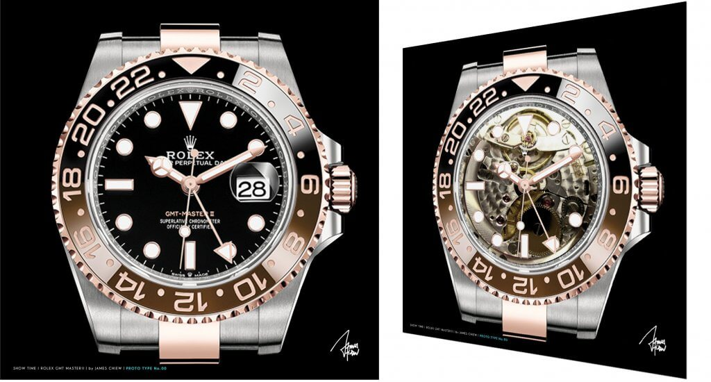 Rolex GMT Master II X-ray   – James Chiew