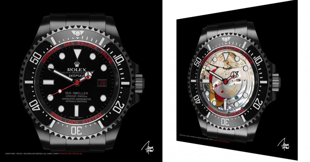 Rolex Deep sea X-ray   – James Chiew