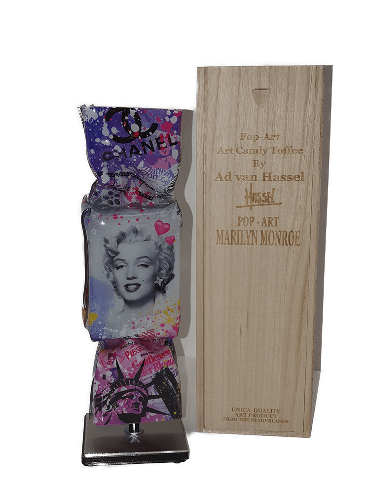 Monroe Pop Art Candy  – Ad van Hassel
