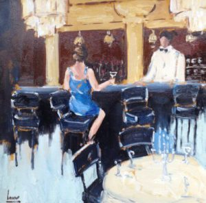 Evening at the bar – Nicole Laceur