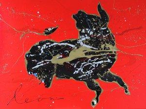 Red & Black I- Leon Bosboom