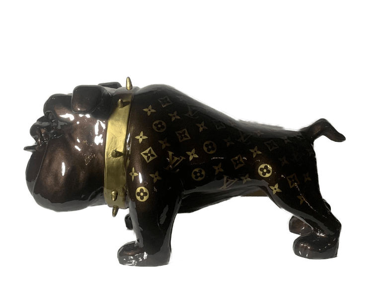 Bull Dog brown LV  – Marcus van Oss