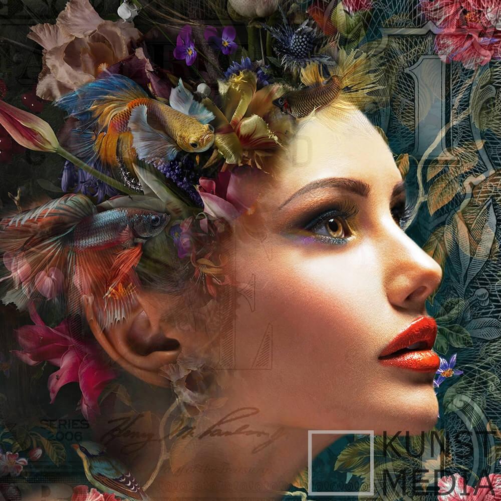 Floral colours – Mascha de Haas