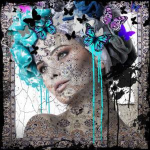 Butterfly woman II – Hans Jochem Bakker