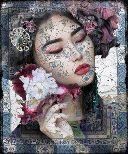 Asian Floral II- Hans Jochem Bakker