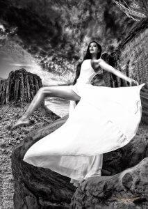 The white dress – Chuck Coleman