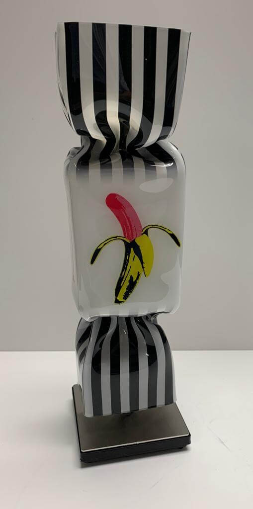 Pop Art Banana Candy – Ad van Hassel
