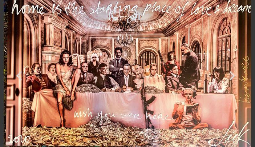 Last Supper $- Jack Liemburg