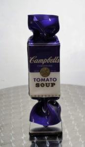 Candy Purple  Sculpture – Ad van Hassel