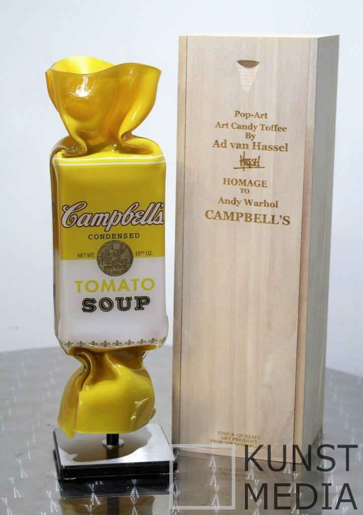 Art Candy Campbell yellow- Ad van Hassel