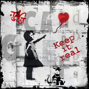 Keep it real- Micha Baker