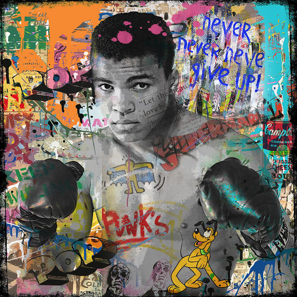 Legend Muhammad Ali- Micha Baker