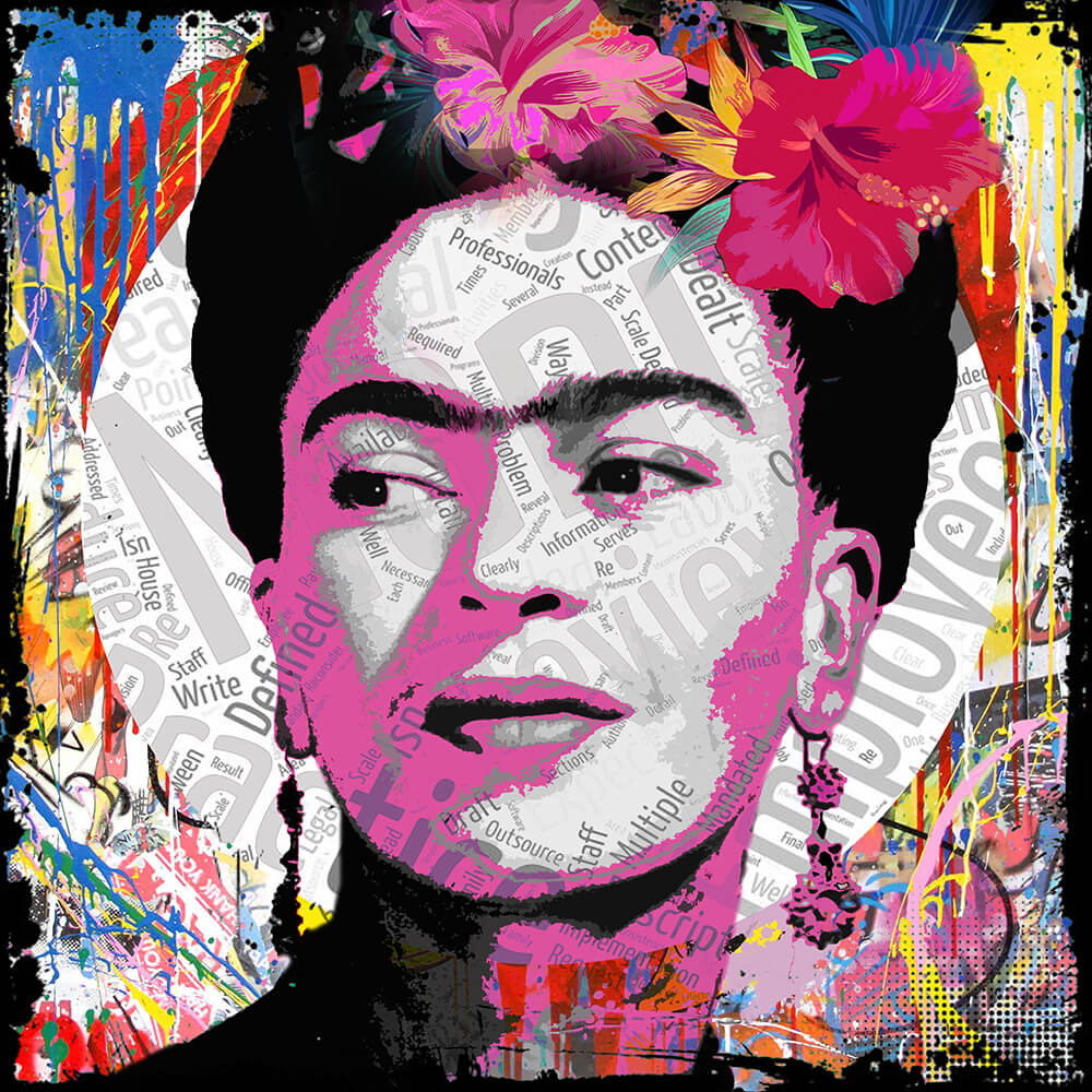 Frida Kahlo- Micha Baker