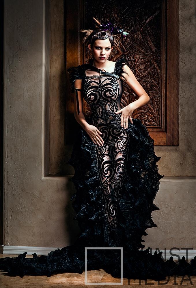 The black dress  – Chuck Coleman