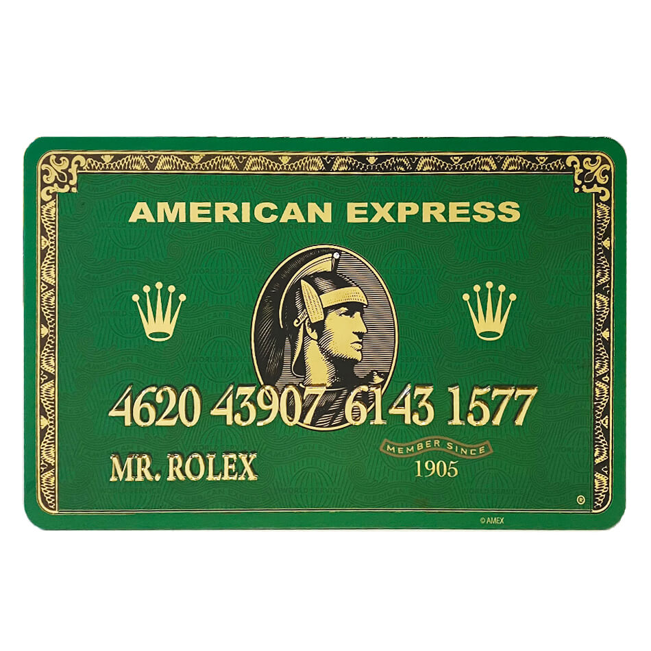 Amex Mr Rolex – van Apple