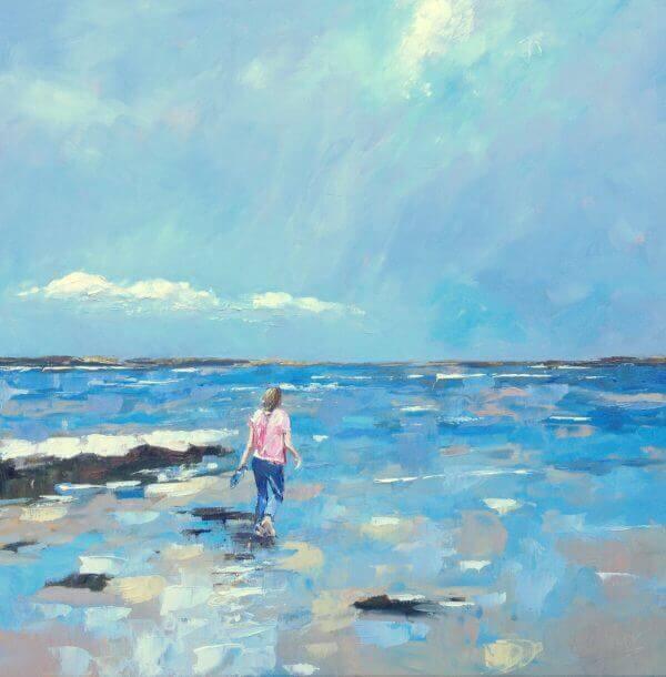 In the sea – Nicole Laceur