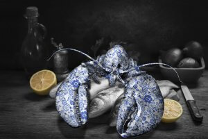 Ming Lobster blue- Lars Tunebo