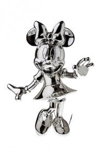 Silver Sculpture Mini – Mickey and Friends