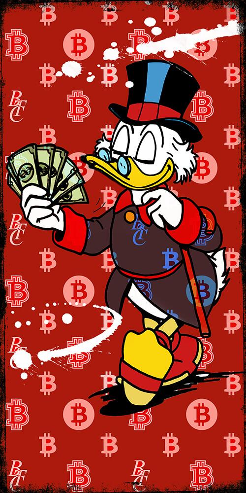 Mr Bitcoin Duck- Micha Baker