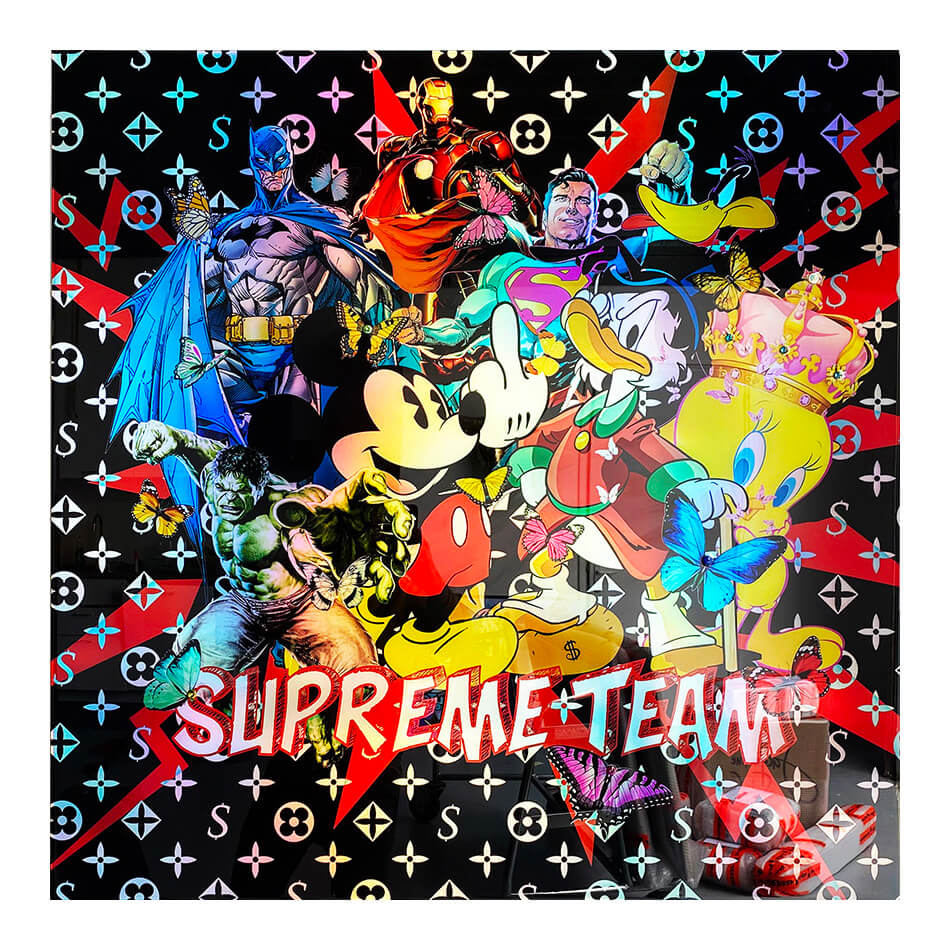 Supreme team – van Apple