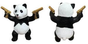 Street Panda Gold – van Apple