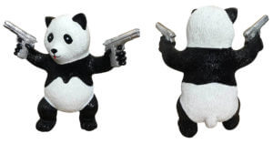 Street Panda Silver – van Apple