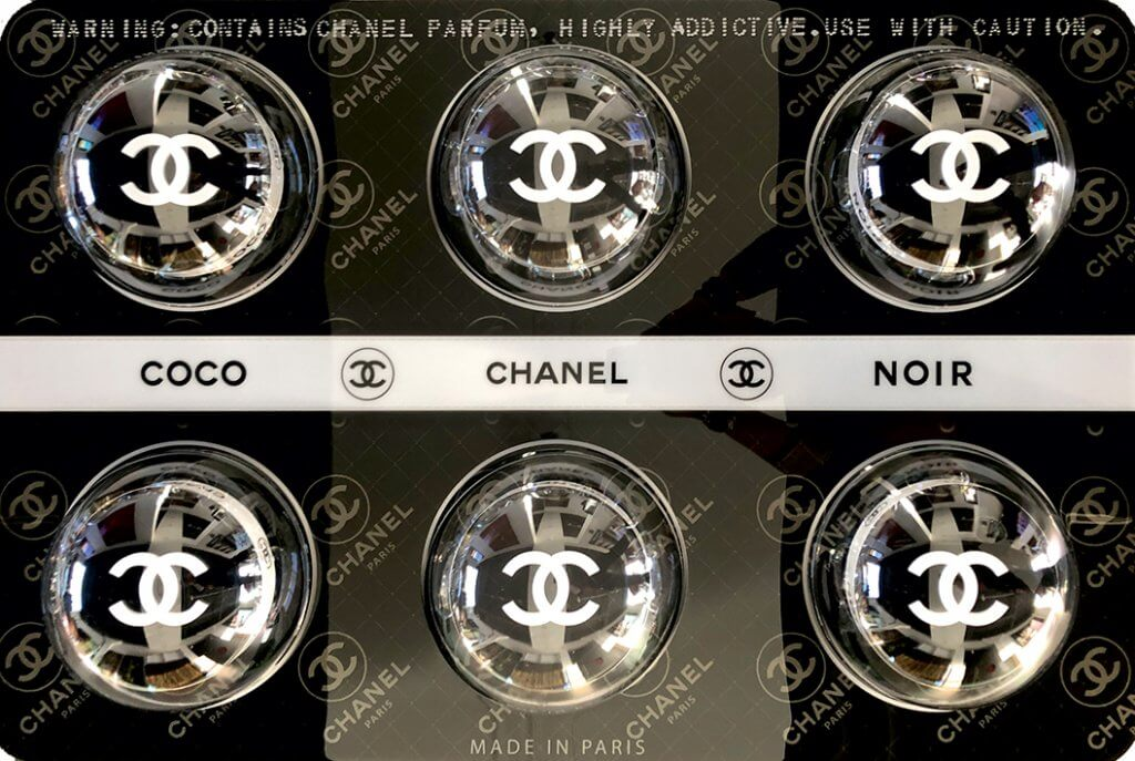 Chanel black Fashion Pills – James Chiew
