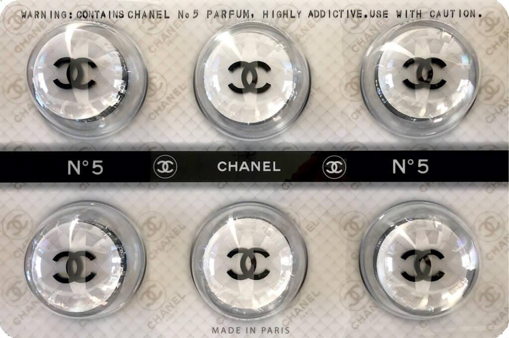 Chanel White Fashion Pills – James Chiew