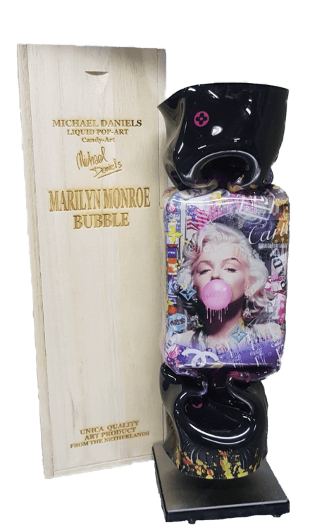Bubble Monroe black I giftbox  – Michael Daniels