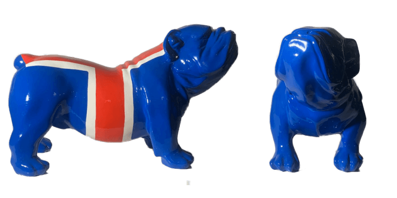 Bulldog blue UK  – Marcus van Oss