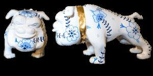 Bulldog Delfts blue  – Marcus van Oss