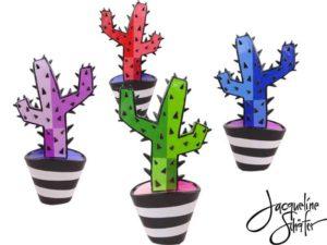 Cactus serie B – Jacqueline Schäfer