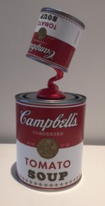 Campbell Double Sculpture – Ad van Hassel