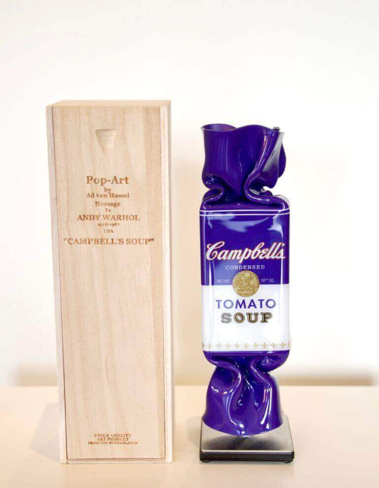 Candy Campbell Purple giftbox – Ad van Hassel