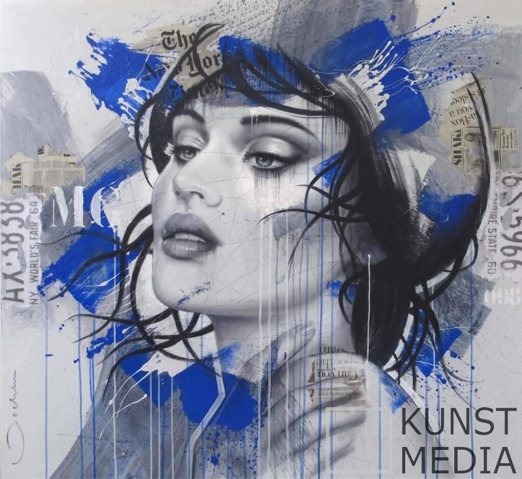 Blue – Hans Jochem Bakker