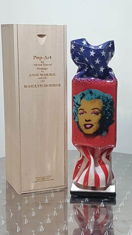 Candy USA Marilyn Sculpture Giftbox – Ad van Hassel