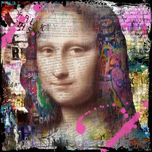 Mrs Mona Lisa – Micha Baker