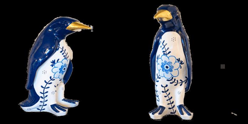 Pinguin Delfts blue  – Marcus van Oss