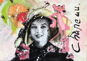 Pink Marilyn – Ronald Chapeau