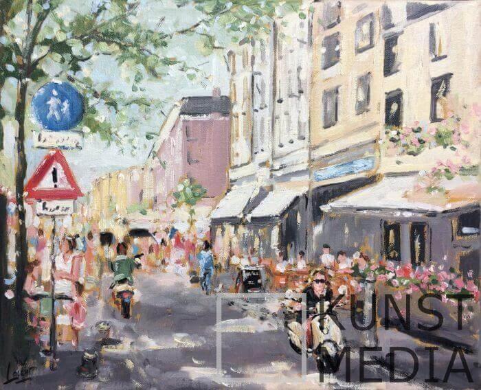 City scene – Nicole Laceur